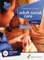 Omslag - Preparing to Work in Adult Social Care Level 1
