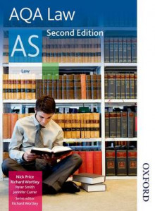 AQA Law AS av Richard Wortley, Jennifer Currer, Nicholas Price og Peter Smith (Heftet)