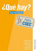Omslag - 'Que Hay? Teacher's Guide CSEC