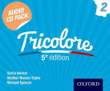 Omslag - Tricolore 5e Edition Audio CD Pack 2
