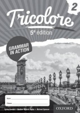 Omslag - Tricolore 5e edition Grammar in Action Workbook 2 (8 pack)
