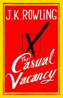 The casual vacancy av J.K. Rowling (Innbundet)