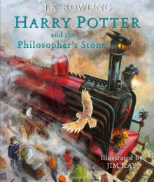 Harry Potter & the philosopher's stone av J.K. Rowling (Innbundet)