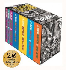 Harry Potter box set av J.K. Rowling (Heftet)