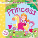 Omslag - Lift-the-Flap Friends Princess