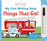 Omslag - My First Writing Book Things That Go!