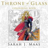 Omslag - The Throne of Glass Colouring Book