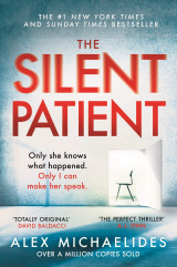 Omslag - The silent patient