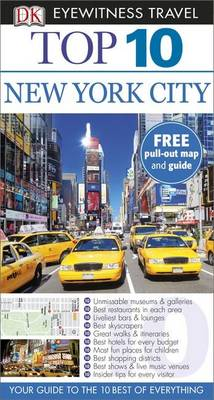 DK Eyewitness Top 10 Travel Guide: New York City (Heftet)