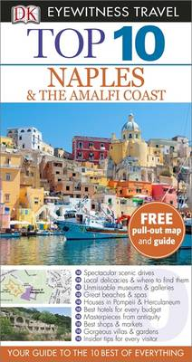 DK Eyewitness Top 10 Travel Guide: Naples & the Amalfi Coast av Jeffrey Kennedy (Heftet)