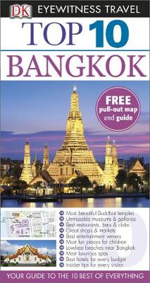 DK Eyewitness Top 10 Travel Guide: Bangkok av Ron Emmons (Heftet)