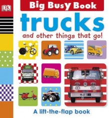 Big Busy Book Trucks av DK Publishing (Pappbok)