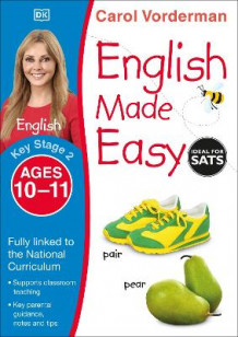 English Made Easy Ages 10-11 Key Stage 2 av Carol Vorderman (Heftet)