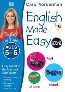 English Made Easy Ages 5-6 Key Stage 1: Ages 5-6 Key stage 1 av Carol Vorderman (Heftet)