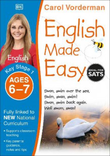 English Made Easy Ages 6-7 Key Stage 1: Ages 6-7, Key stage 1 av Carol Vorderman (Heftet)