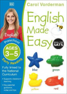 English Made Easy Preschool Early Reading Ages 3-5: Ages 3-5 preschool av Carol Vorderman (Heftet)