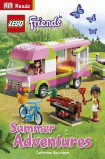 LEGO Friends Summer Adventures av Catherine Saunders (Innbundet)