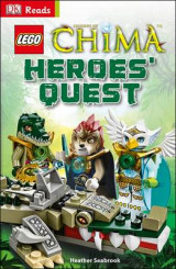Omslag - LEGO Legends of Chima Heroes' Quest