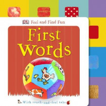 Feel and Find Fun First Words av DK (Pappbok)