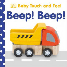 Baby Touch and Feel Beep! Beep! av DK (Pappbok)