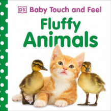 Baby Touch and Feel Fluffy Animals av DK (Pappbok)
