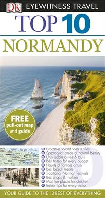 DK Eyewitness Top 10 Travel Guide: Normandy av Fiona Duncan og Leonie Glass (Heftet)