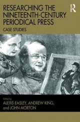Omslag - Researching the Nineteenth-Century Periodical Press