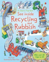 See Inside Rubbish and Recycling av Alex Frith (Innbundet)