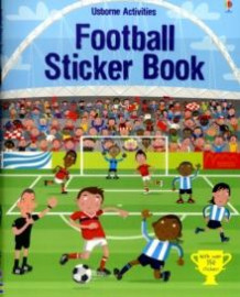 Football sticker book av Paul Nicholls (Andre trykte artikler)