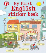 Omslag - My first english sticker book