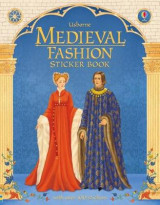 Omslag - Medieval Fashion Sticker Book