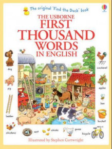 First thousand words in english av Heather Amery (Heftet)