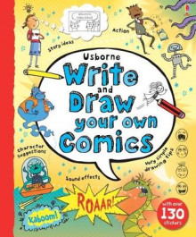 Write and Draw Your Own Comics av Louie Stowell (Spiral)