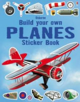 Omslag - Build your own planes sticker book