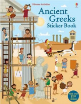Omslag - Ancient Greeks Sticker Book