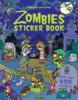 Omslag - Zombies sticker book