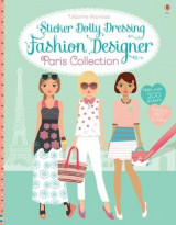Omslag - Sticker Dolly Dressing Fashion Designer Paris Collection