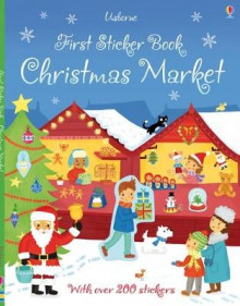 First Sticker Book Christmas Market av James Maclaine (Heftet)