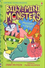 Omslag - Billy and the Mini Monsters Monsters Go Party!