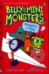 Omslag - Billy and the Mini Monsters - Monsters On A Plane
