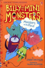 Omslag - Billy and the Mini Monsters Monsters on the Move