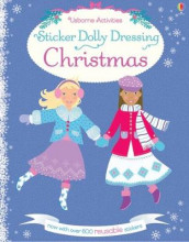 Sticker Dolly Dressing Christmas av Leonie Pratt (Heftet)