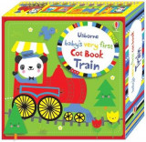 Omslag - Baby's Very First Cot Book Train