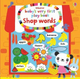 Omslag - Baby's Very First Play Book Shop Words