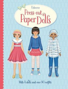 Press-Out Paper Dolls av Fiona Watt (Innbundet)