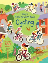 Omslag - First Sticker Book Cycling