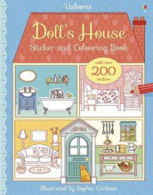Doll's House Sticker and Colouring Book av Abigail Wheatley (Heftet)