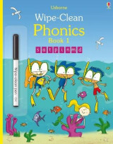 Omslag - Wipe-Clean Phonics: Book 1
