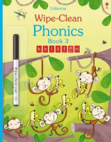 Omslag - Wipe-Clean Phonics: Book 3