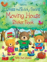 Omslag - Dress the Teddy Bears Moving House Sticker Book